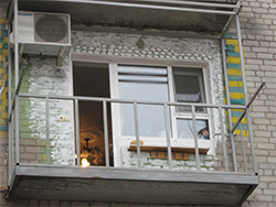 Усиление французских балконов