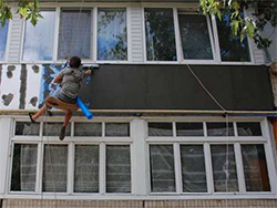 утепление балконов и лоджий снаружи пенопластом