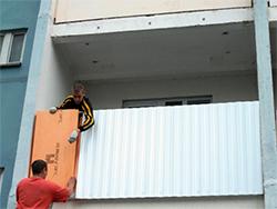 утепление и обшивка балконов снаружи