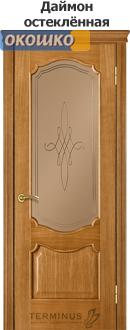 дверь терминус каро модель 41 цвет даймон остекленная