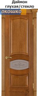 дверь терминус каро модель 50 цвет даймон глухая/остекленная