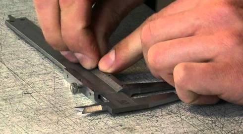 штангенциркуль измерение металлических дверей