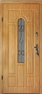 дверь монолит модель Ковка